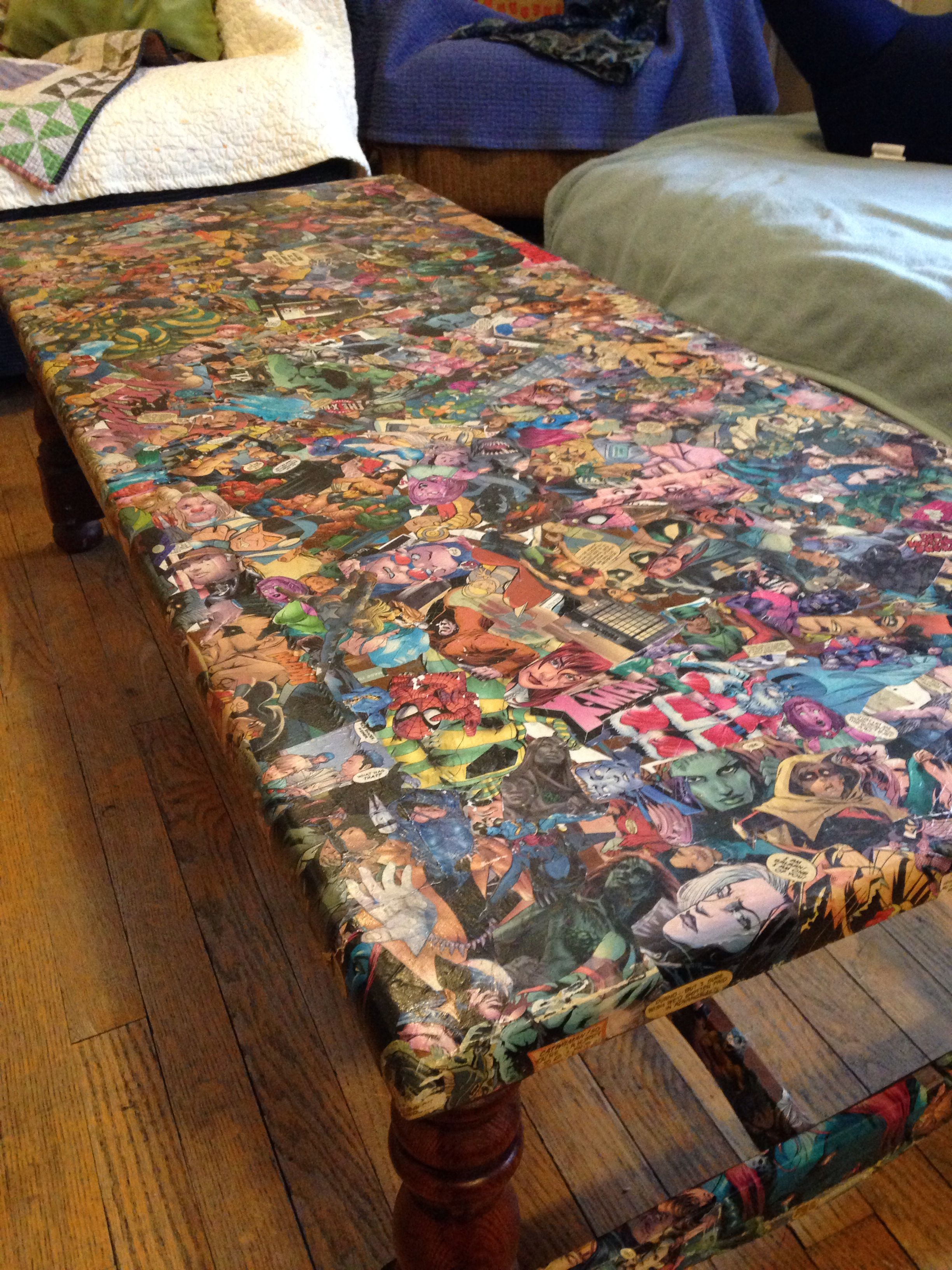 ic book coffee table SyFy Made