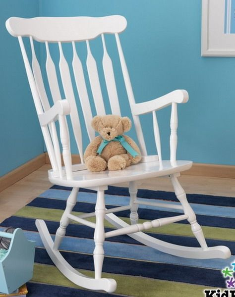 Wooden Rocking Chairs For Adults Indoor Computer Chair Good Back Superior