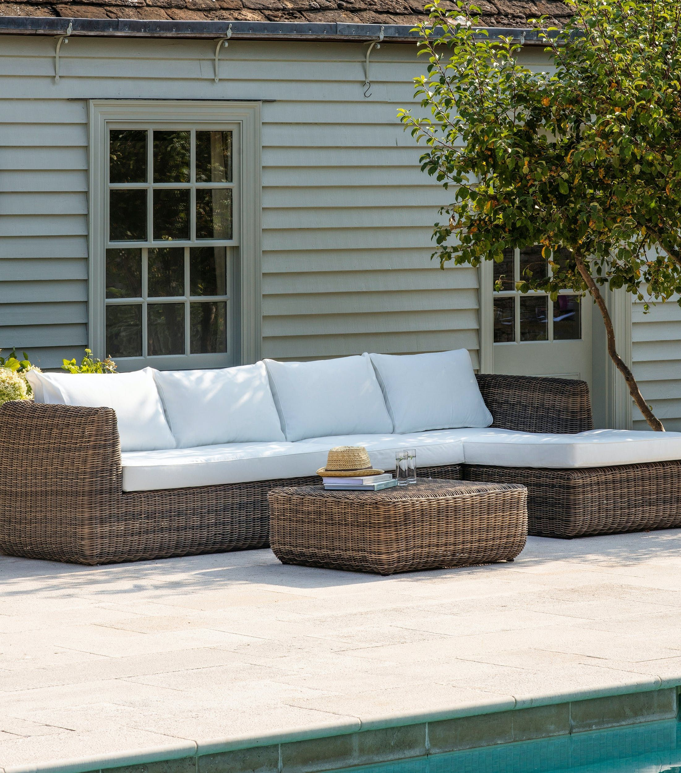 Polyrope Colwell Outdoor Sofa Set  Garden Trading Colwell Sofa