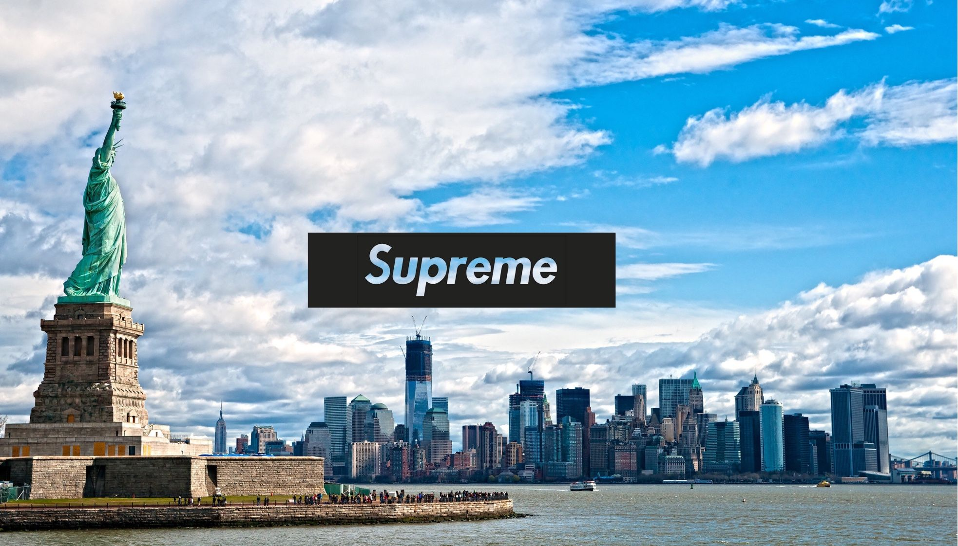 New York Supreme Wallpaper Hype Wallpaper Beast Wallpaper