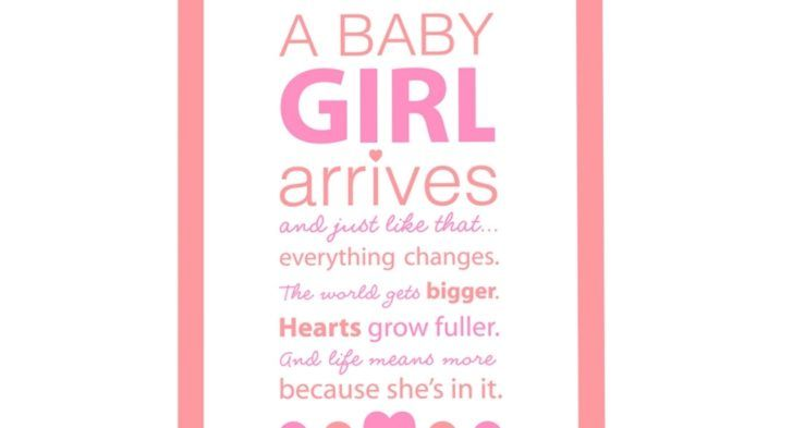 New Baby Girl Messages Quote For Newborn Ba Girl Daily Quotes Of The