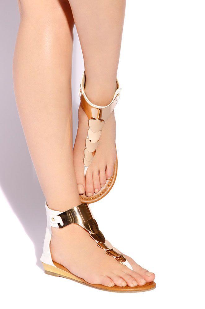 Lola Shoetique - Haute Glow - White, $24.99 (http://www.lolashoetique.com/haute-glow-white/)