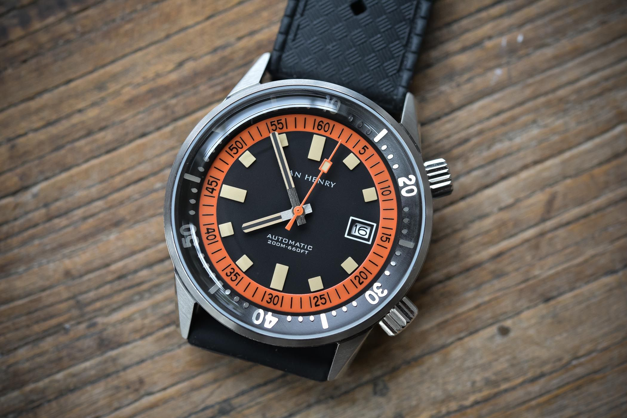 Value Proposition Review Dan Henry 1970 Automatic Diver