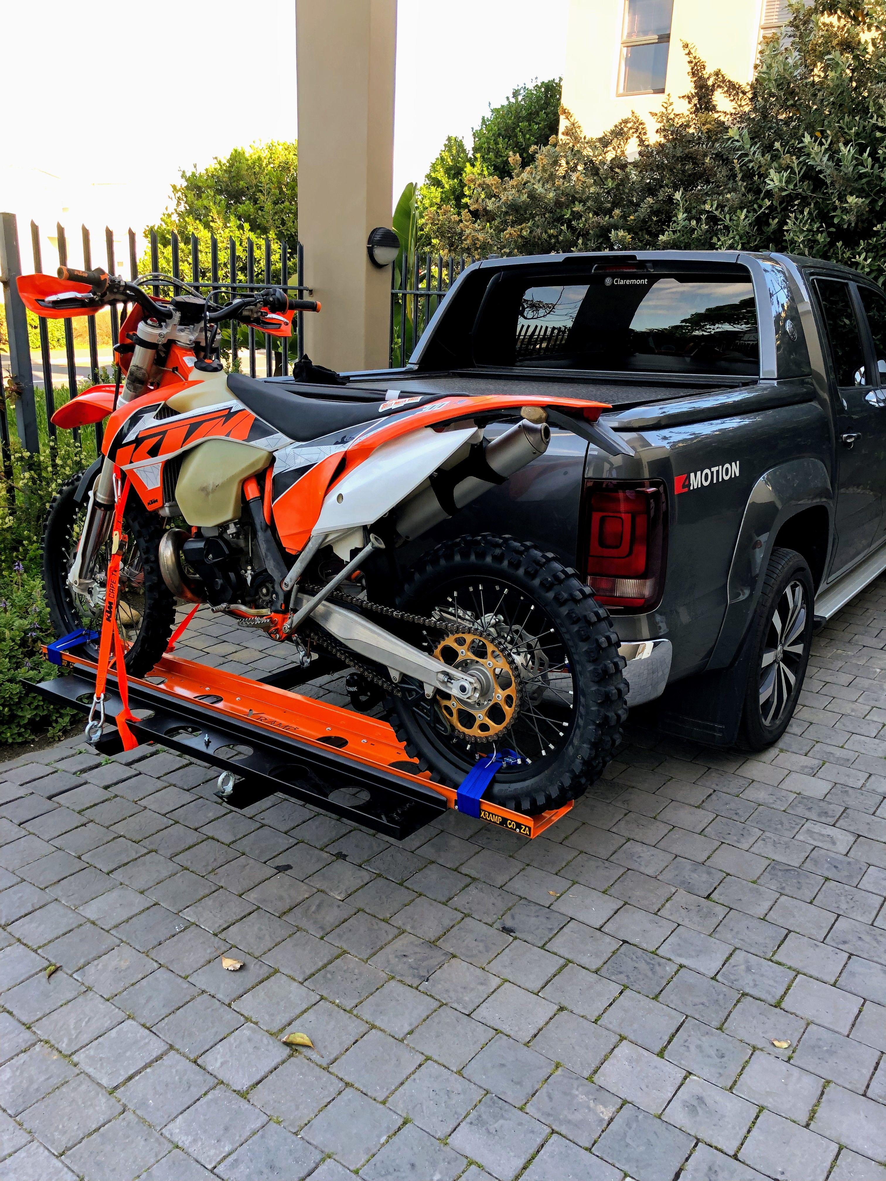 X Ramp Fitted To My Truck Works Well Trucks Monster Trucks Wellness