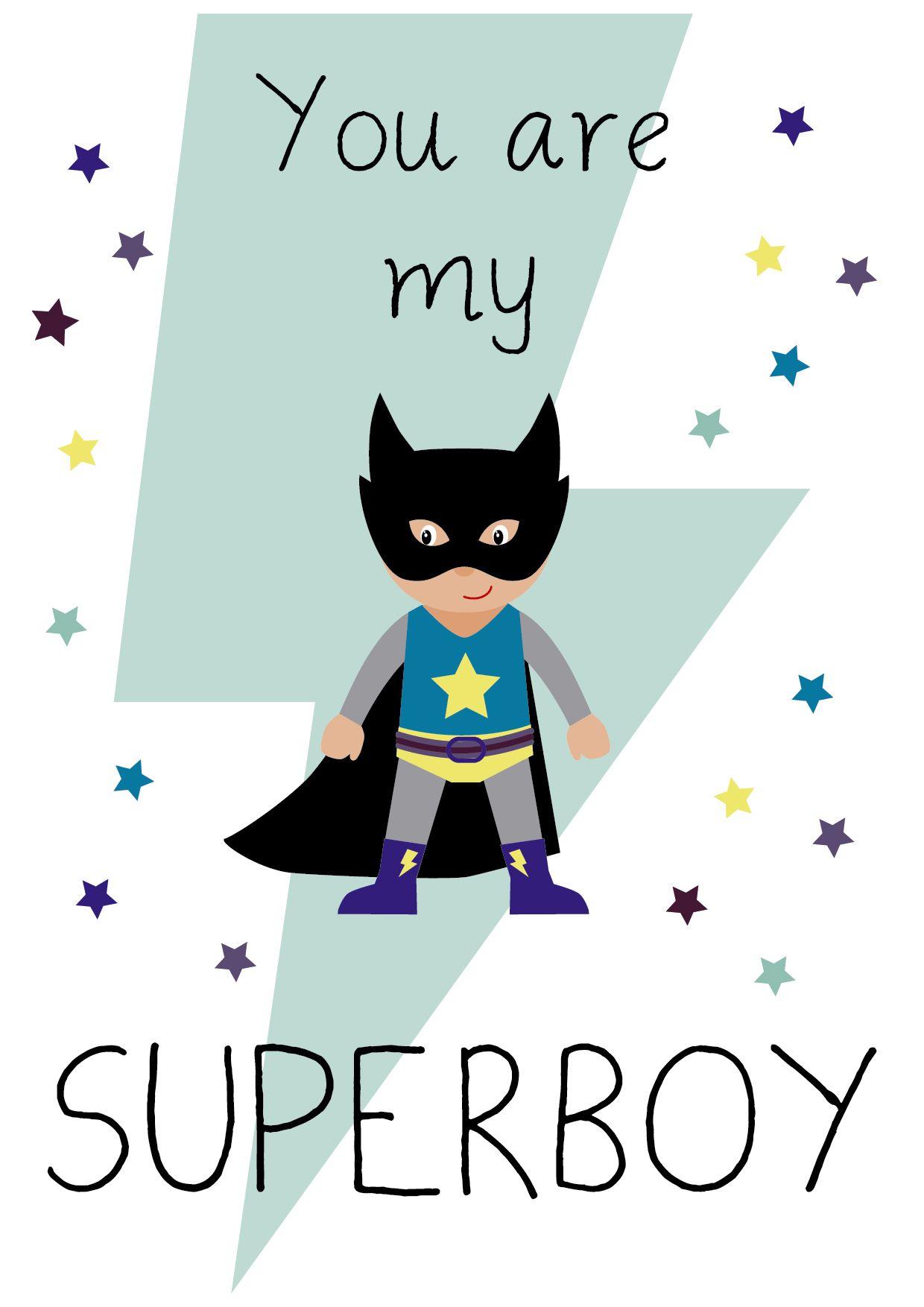L mina superboy l minas decorativas l minas cuadros for Cuadros habitacion bebe