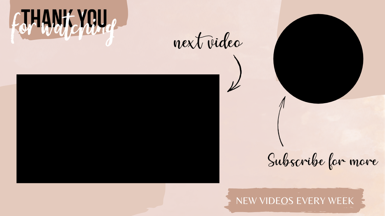 Endscreen For Youtube Videos End Slate For Videos Youtube Editing Youtube Videos Youtube Channel Ideas