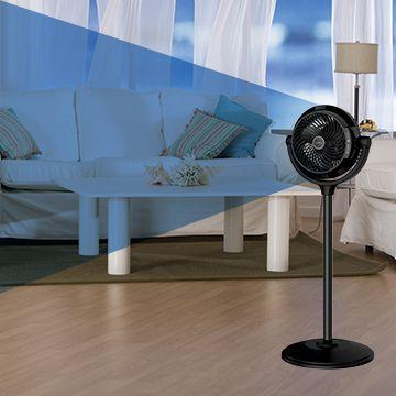"Lasko 34/"" Compact Power Pedestal Fan with Remote Control"