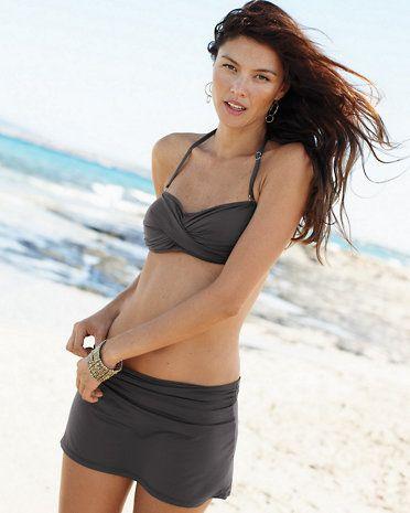 99e8cdd123 Garnet Hill Ruched Swim Skirt | Take Me Away Clothing | Swim skirt ...