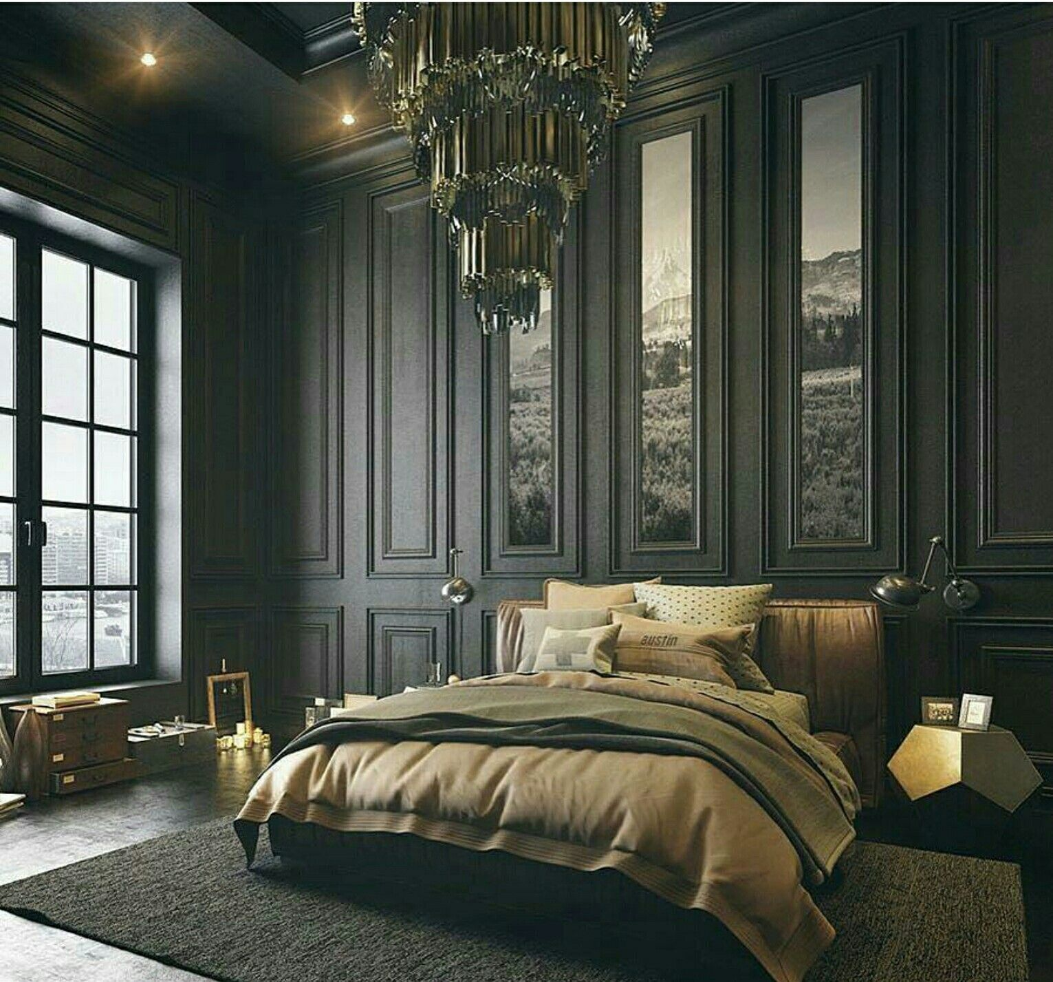 Best Dramatic Home Bedroom Bedroom Interior 640 x 480