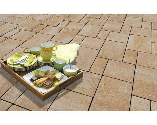pflasterstein iway trend sandstein mehrformat st rke 6cm. Black Bedroom Furniture Sets. Home Design Ideas