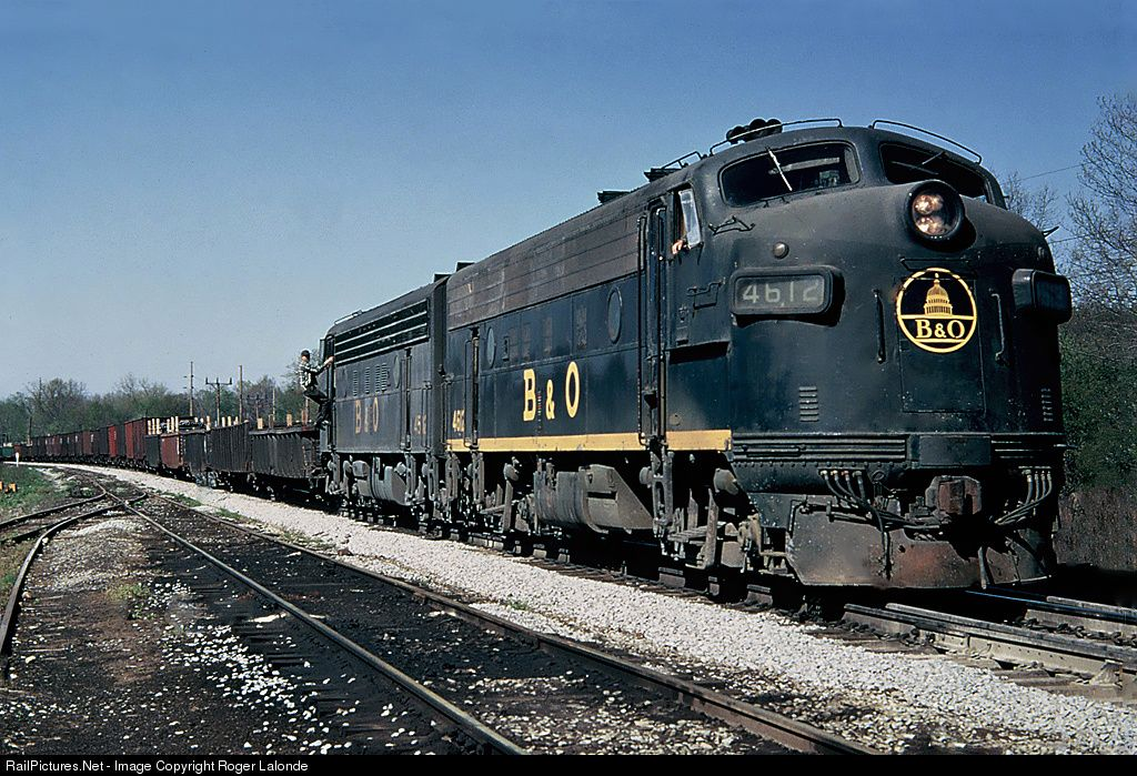Railpictures net photo b o 4612 baltimore ohio b o for Railpictures