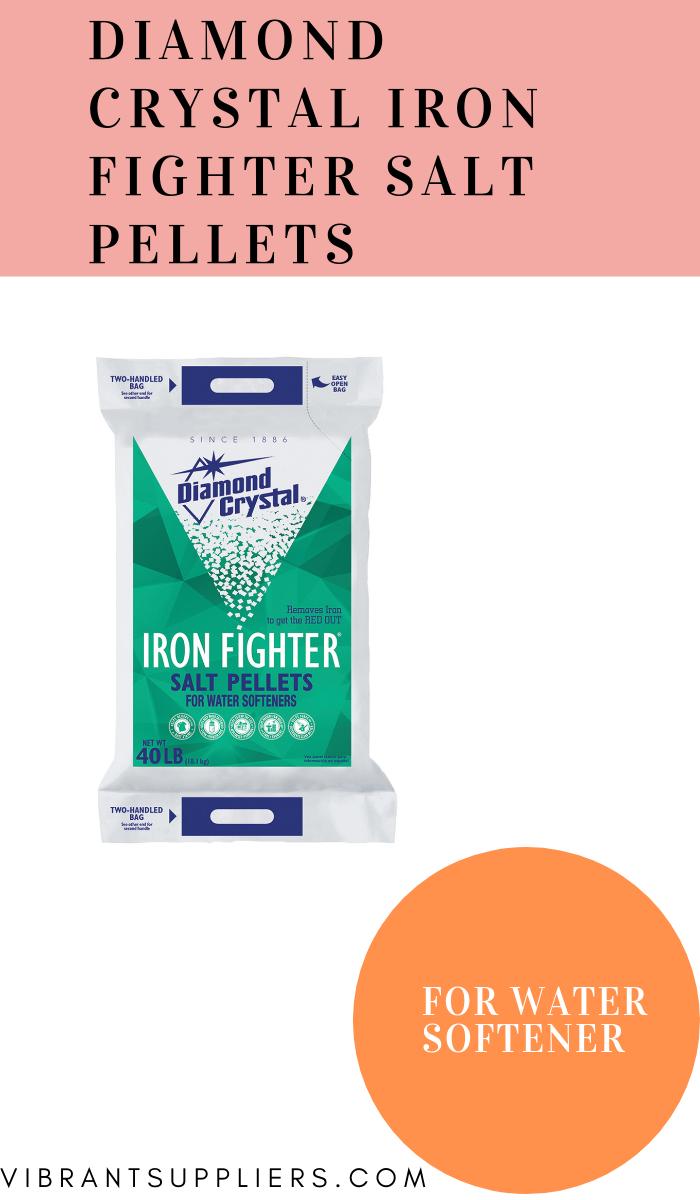 Diamond Crystal Iron Fighter Salt Pellets Water Softener Softener Salt Water Softener Salt