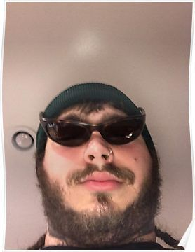 ghost hunting post malone poster