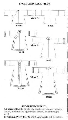 hanfu sewing pattern - Google Search | Ballet stuff | Pinterest ...