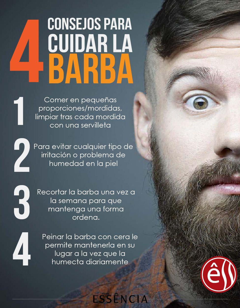 4 Consejos Para Cuidar La Barba Cuidado De La Barba Barba Formas De Barba