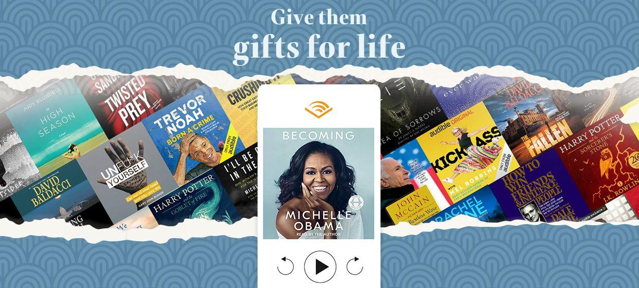 Audible Gift Memberships affiliate Gift