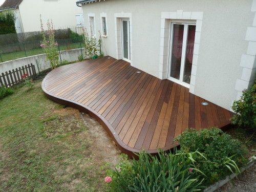 Bardage bois extérieur, aménagement extérieur bois, terrasse en bois - terrasse pave et bois