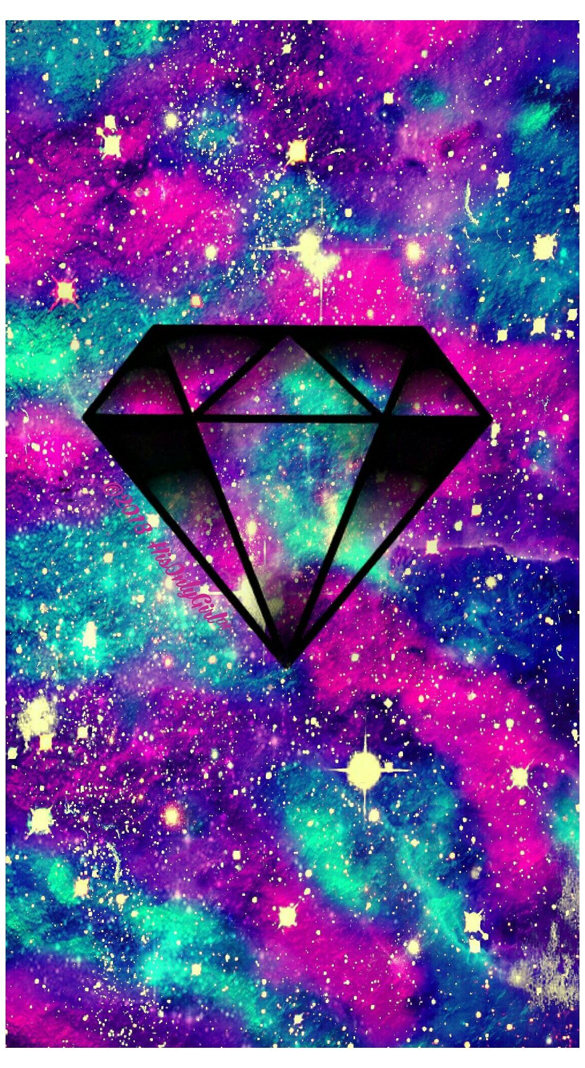 Diamond Wallpaper Iphone Galaxy Diamondwallpaperiphonegalaxy Diamond Lovely Galaxy Android Ip Unicorn Wallpaper Diamond Wallpaper Iphone Cute Wallpapers Galaxy purple diamond wallpaper