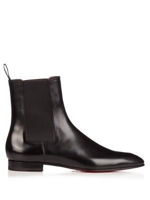 Roadie leather chelsea boots