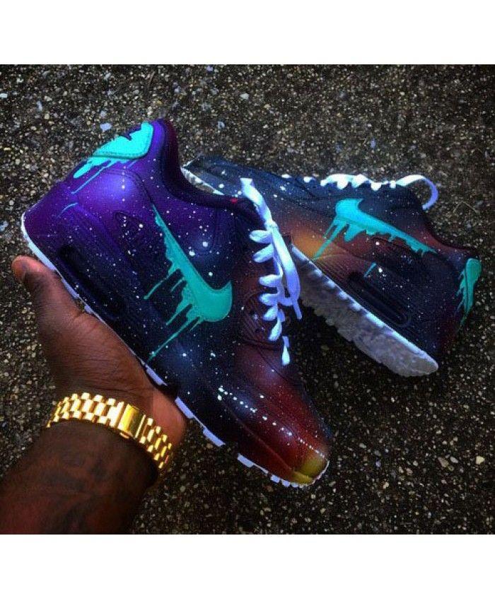 Chaussure Nike Air Max 90 Candy Drip Galaxie Violet Vert