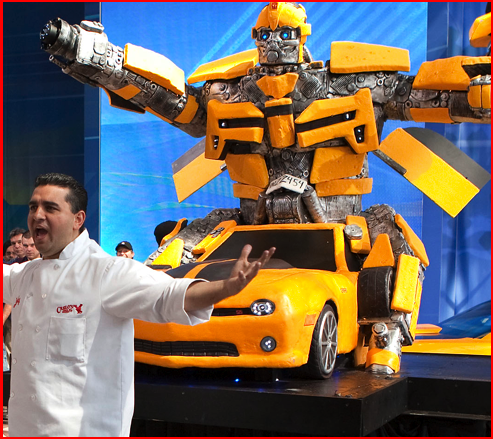 Kue Berbentuk Robot