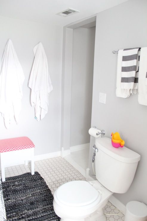 Paint Color Is Dolphin Fin By Behr Kids Room Wall Color Painting Bathroom Bathroom Paint Colors