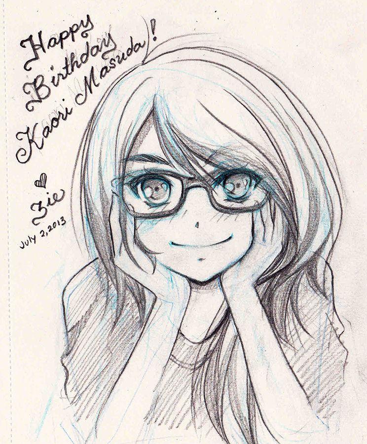 Happy Birthday Kaori By Zienta On DeviantArt