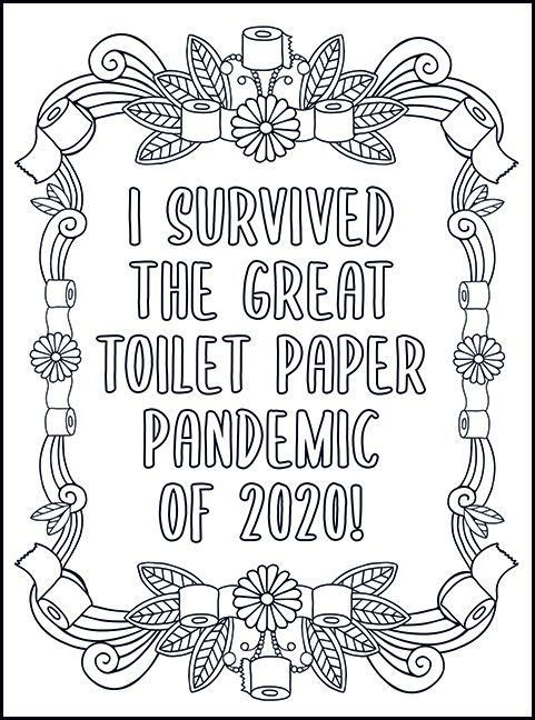 Free Printable Coloring Pages For Adults With Swear Words In 2020