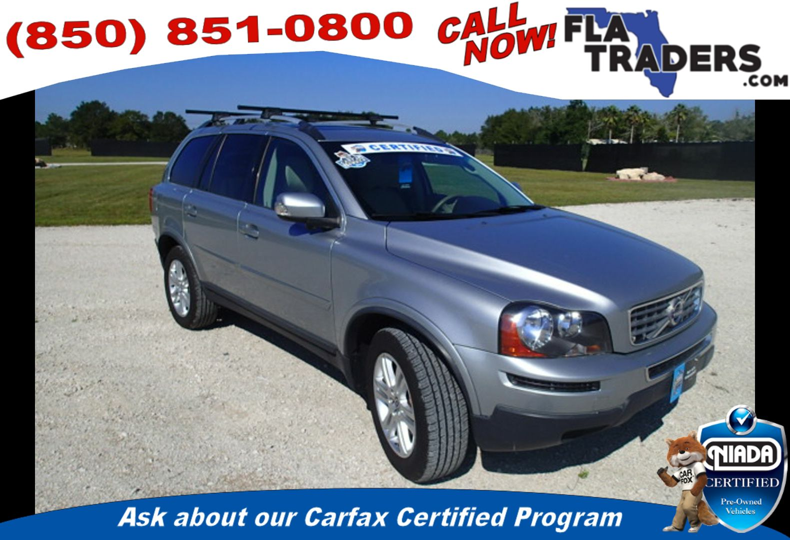 2011 VOLVO XC90 - Florida Traders Used Cars in Panama City FL ...