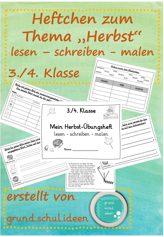Deutsch 3 4 Klasse Ubungsheft In 2020 Erste Klasse Ubungsheft Rechtschreibstrategien
