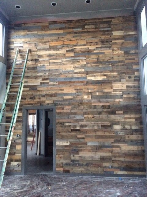 Recycled Pallet Wall Panels From Sustainable Lumber Co