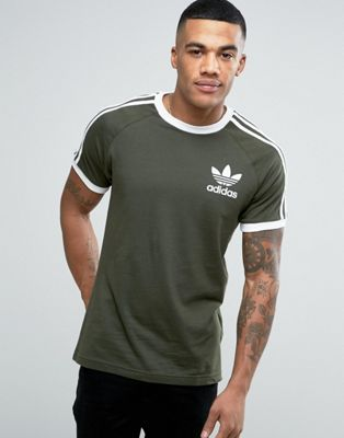 size 40 04ee6 38b53 adidas Originals California T-Shirt In Green BQ5369