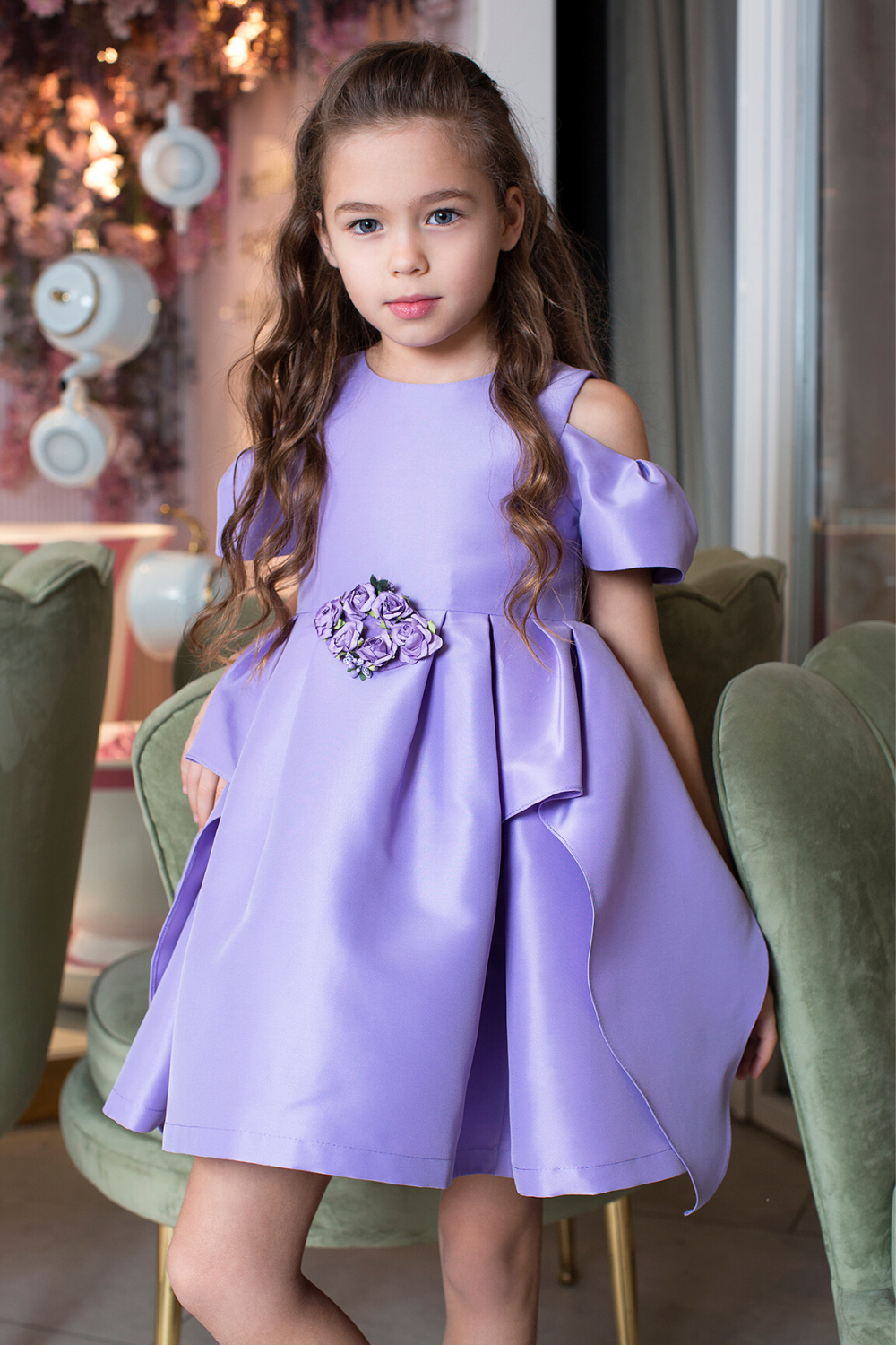 Special Occasion Dresses For Girls Girls Formal Dresses Kids Girls Special Occasion Dresses Purple Toddler Dress [ 1500 x 1000 Pixel ]