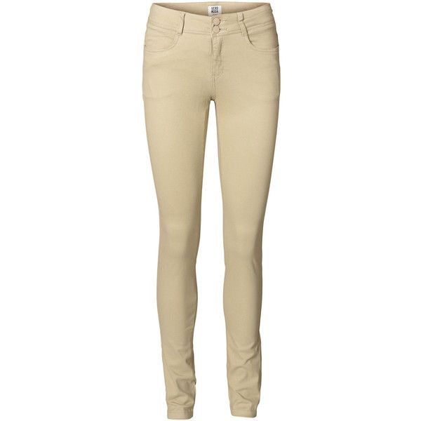 Vero Moda Pop Slim Pant ($39) Liked On Polyvore