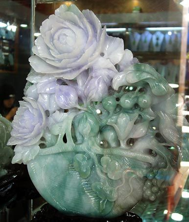 Another amazing jade carving from China. Such beauty and intricacy.
