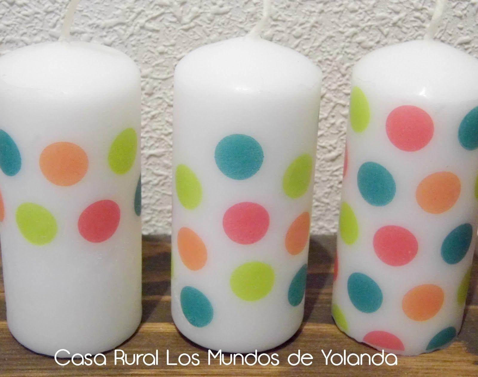 Velas Y Servilletas Decoradas Velas Pinterest Wax Candles Wax - Decorar-velas-con-servilletas