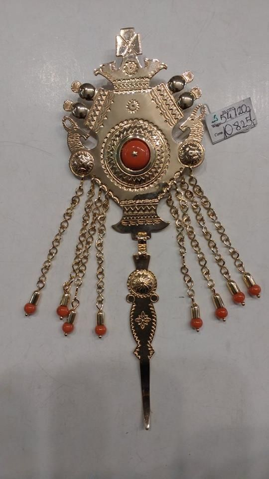 Polish Highlanders Decorative Clasp Made By Pracownia Zlotnicza Koral Polish Folk Art Folk Embroidery Polish