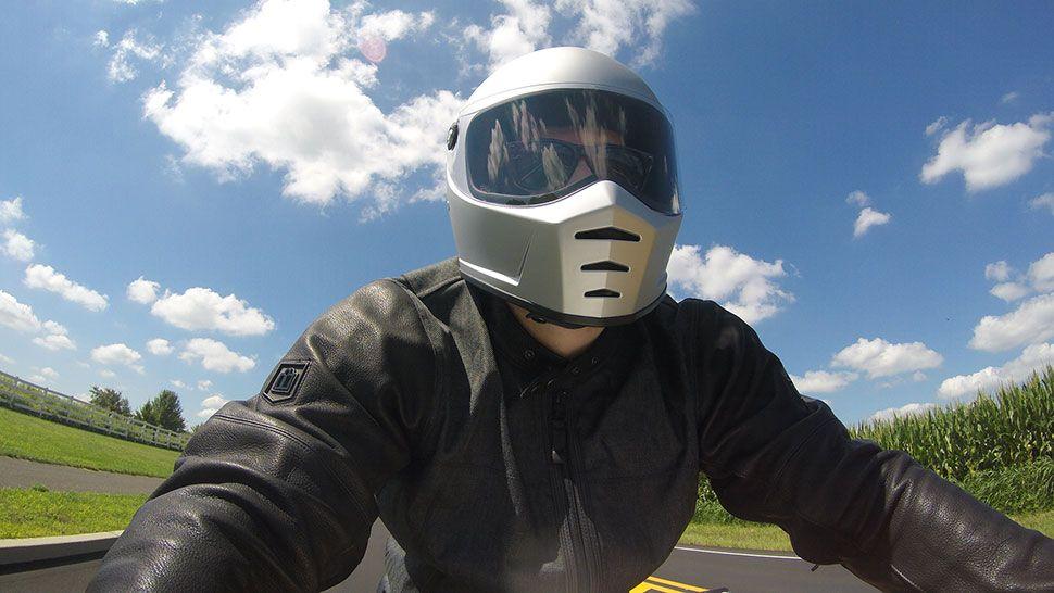 c98bcf72 Biltwell Lane Splitter Helmet - Flat Silver | Biltwell Inc. | Lane ...
