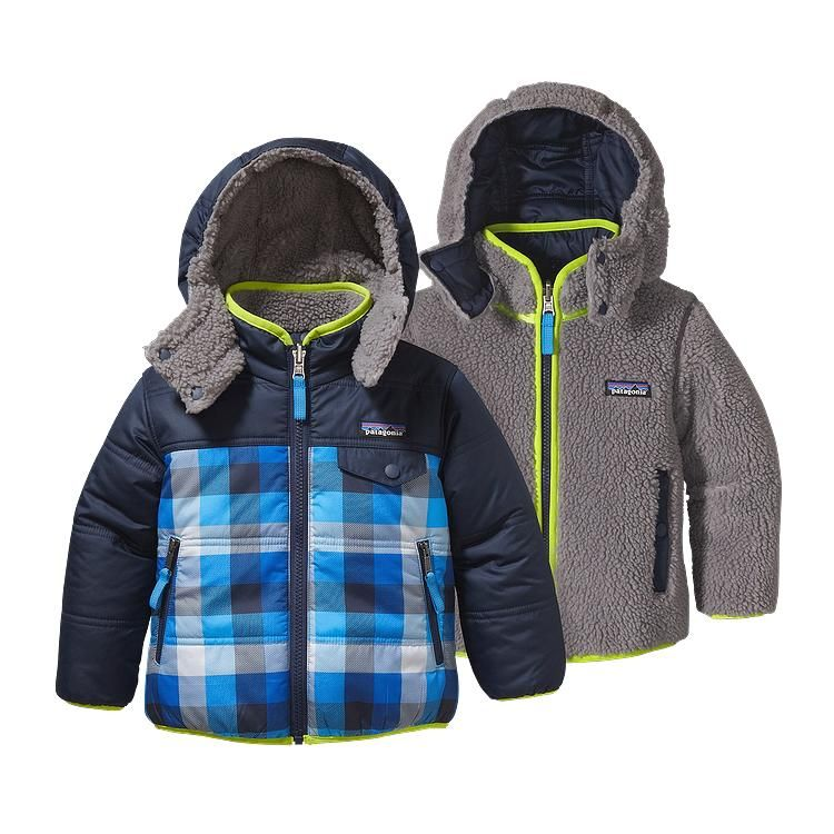 Baby Reversible Tribbles Hoody Hoodies Outdoor Outfit
