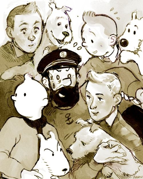 Will The Real Tin Tin Please Stand Up Tintin Animated