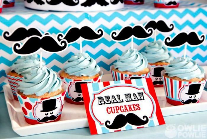 Little Man + Mustache Themed Birthday Party {Planning, Ideas, Decor}