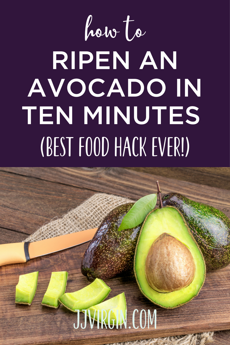 Stuck With Rock Hard Avocados Here S A Quick And Easy Way To Ripen An Avocado In Just 10 Minutes Guacamole How To Ripen Avocados Hard Avocado Avocado Recipes