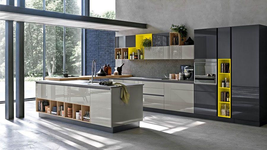 Le pi belle cucine ad angolo moderne delle migliori marche pinterest kitchen - Migliori marche cucine 2016 ...