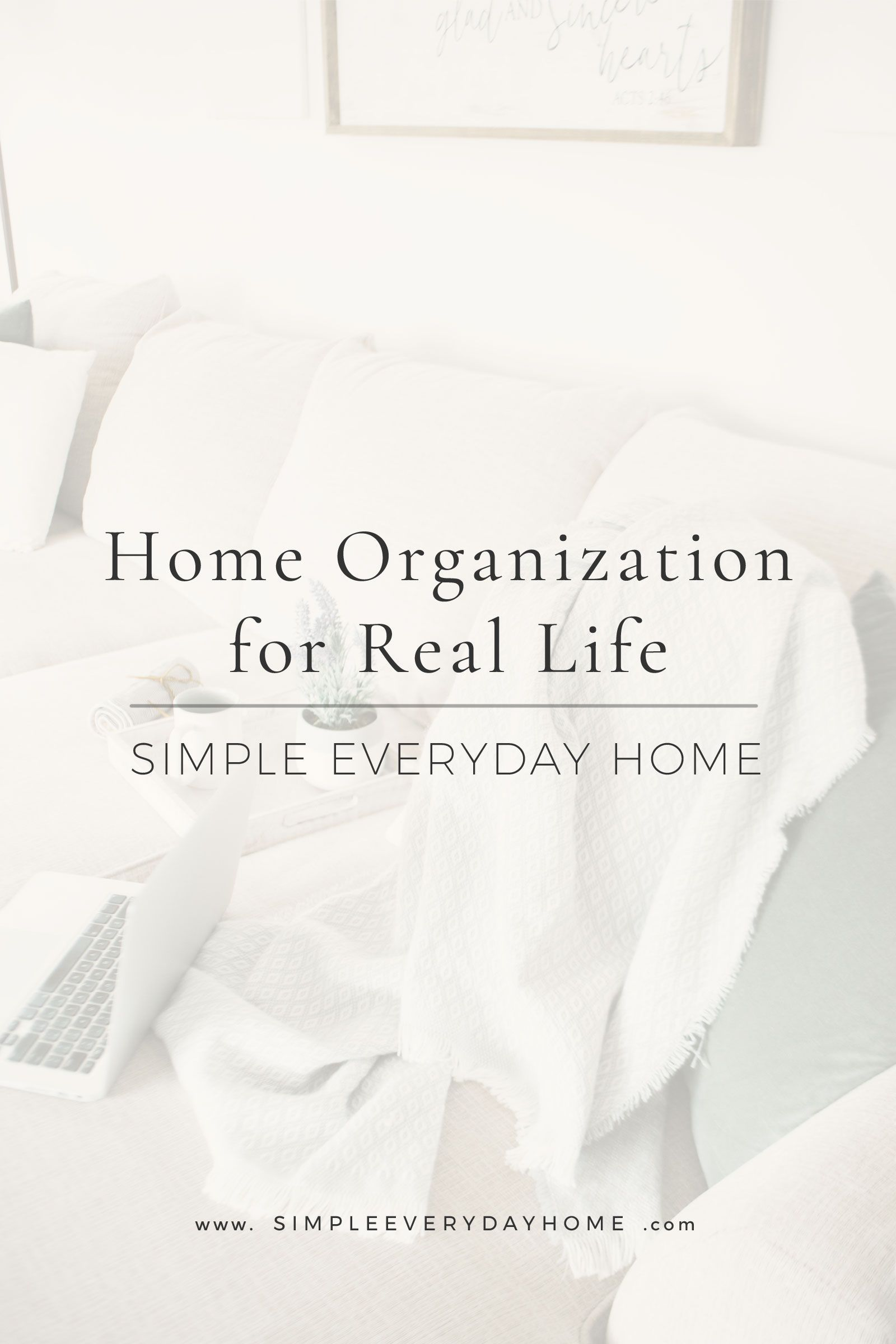 These home organization tips will help you get rid of clutter and ...