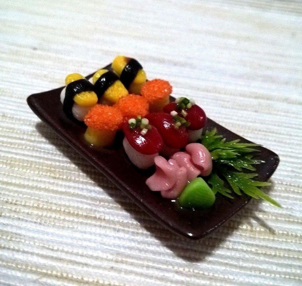 Dollhouse Miniatures Food /& Groceries Asian Cuisine Handmade D I Y Decorative