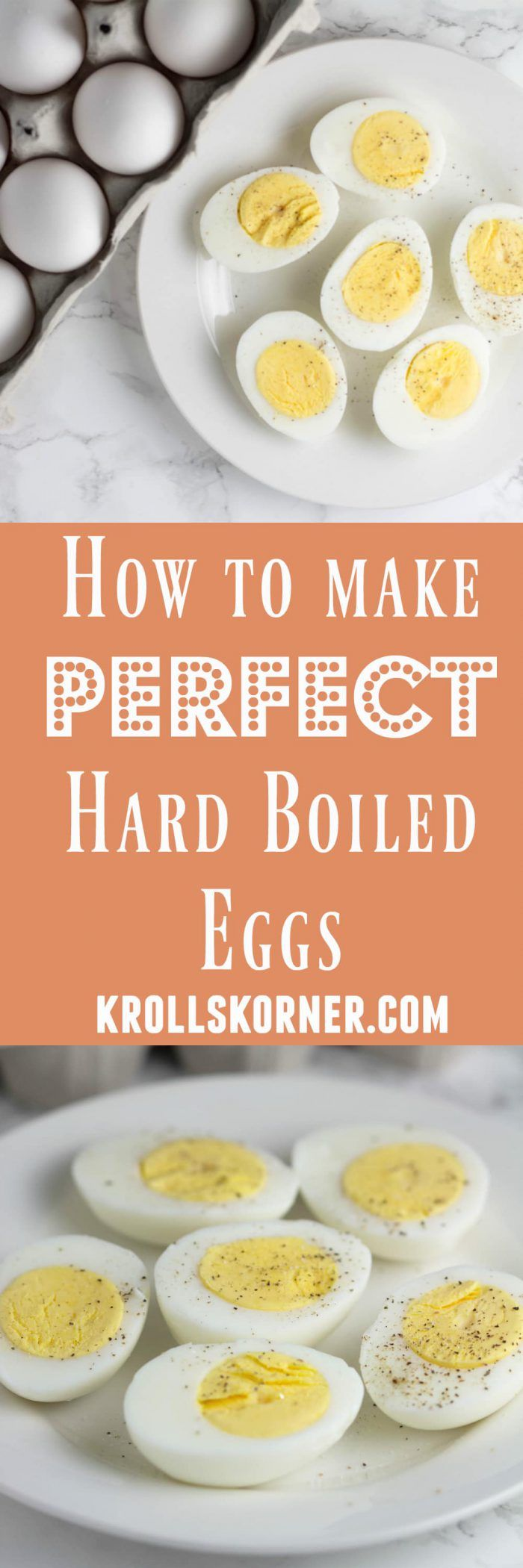 How to Make Perfect Hard Boiled Eggs Every Time