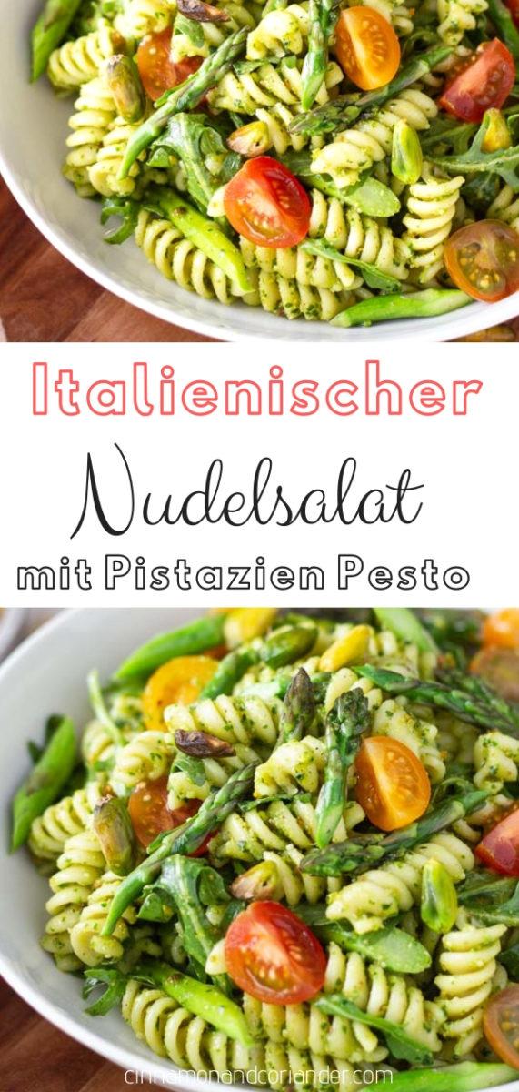Photo of Pastasalat med pistasjpesto, ruccola og asparges