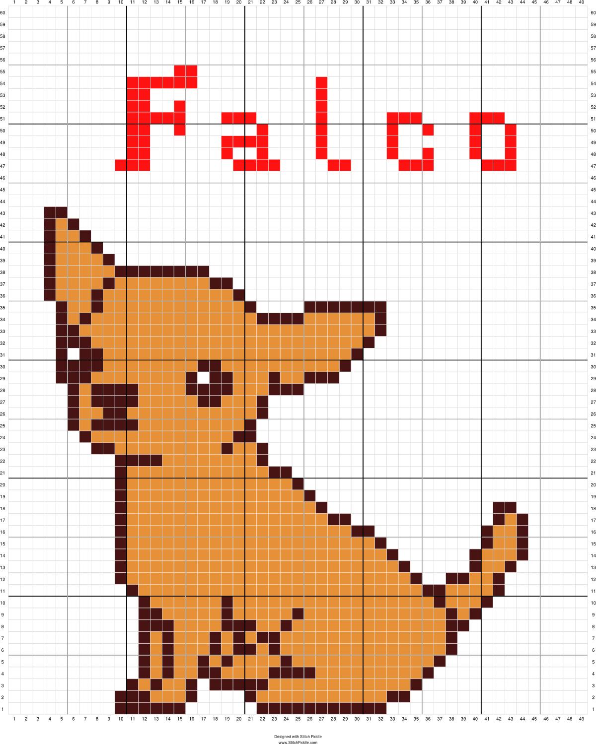 Chihuahua met omlijning | Manualidades | Pinterest | Punto de cruz ...