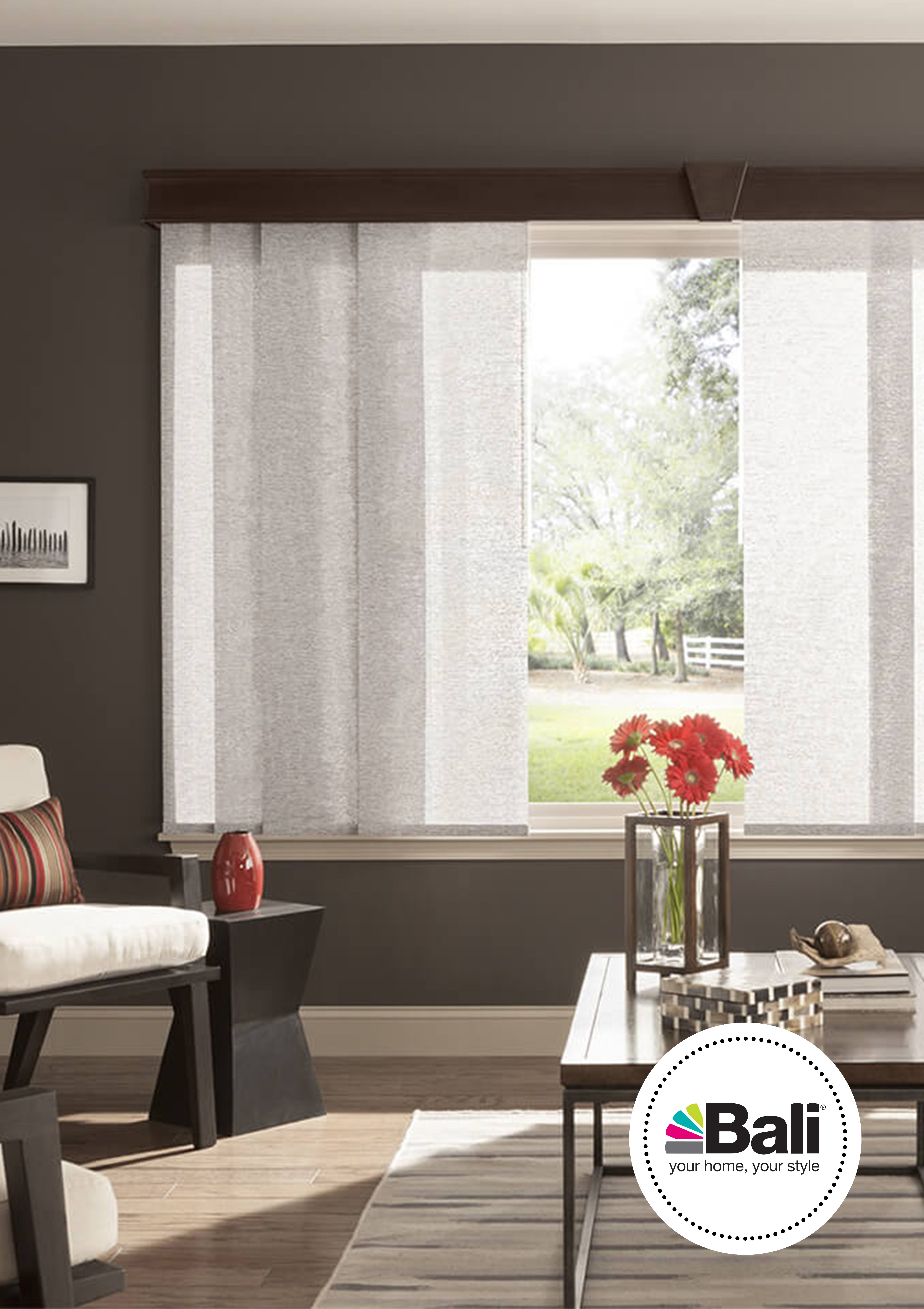 wf track sliding panel panels products left elite tracks stack blinds shades