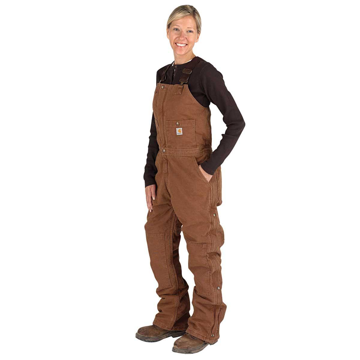 carhartt women s overall carhartt women carhartt on womens insulated bib overalls id=21527